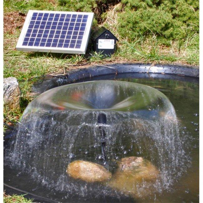 Pompe solaire jet d 39 eau batterie et leds 8 w 800l h for Pompe solaire pour bassin exterieur
