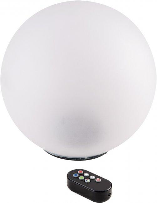 boule solaire rgb multicolore t l command e balise boule solaire objetsolaire. Black Bedroom Furniture Sets. Home Design Ideas