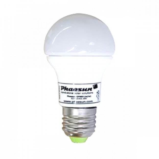 Ampoule led 12v dc 4 5 w e27 sur le site internet objetsolaire for Led lampen 12v