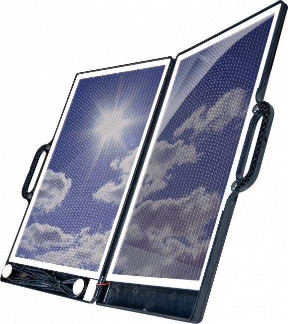 panneau solaire portable valise 13w 12 v panneau solaire. Black Bedroom Furniture Sets. Home Design Ideas