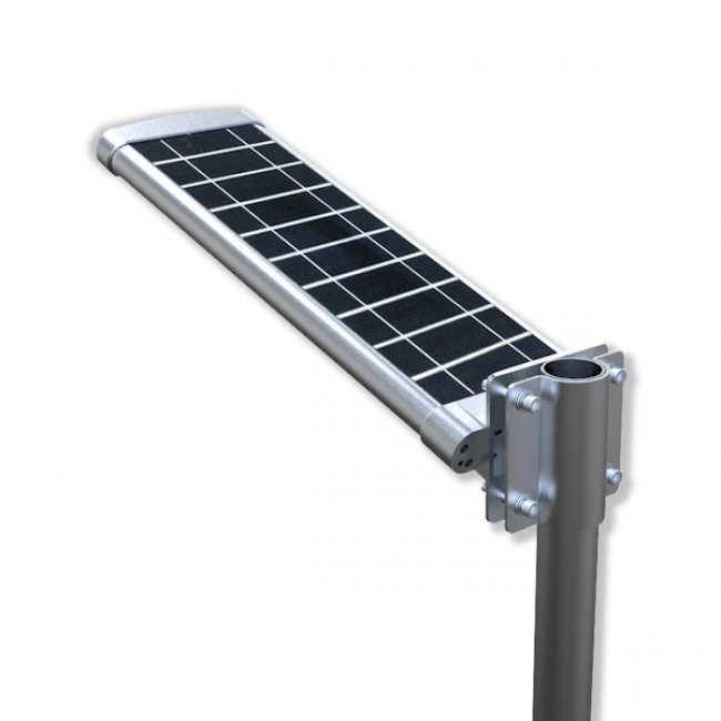 lampadaire solaire puissant 10 w led zs sl16 eclairage. Black Bedroom Furniture Sets. Home Design Ideas