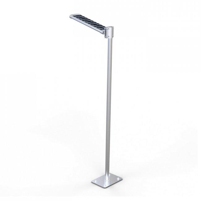 lampadaire solaire puissant 10 w led zs sl16 eclairage solaire puissant objetsolaire. Black Bedroom Furniture Sets. Home Design Ideas