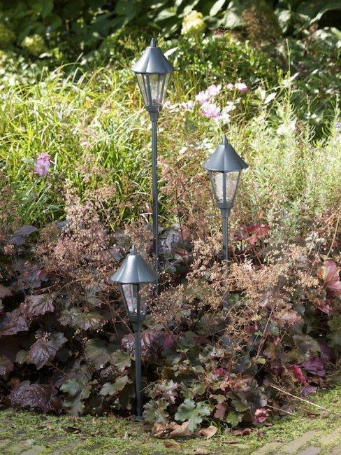 Lampadaire de jardin 12v porto easy connect eclairage - Lampadaires de jardin ...