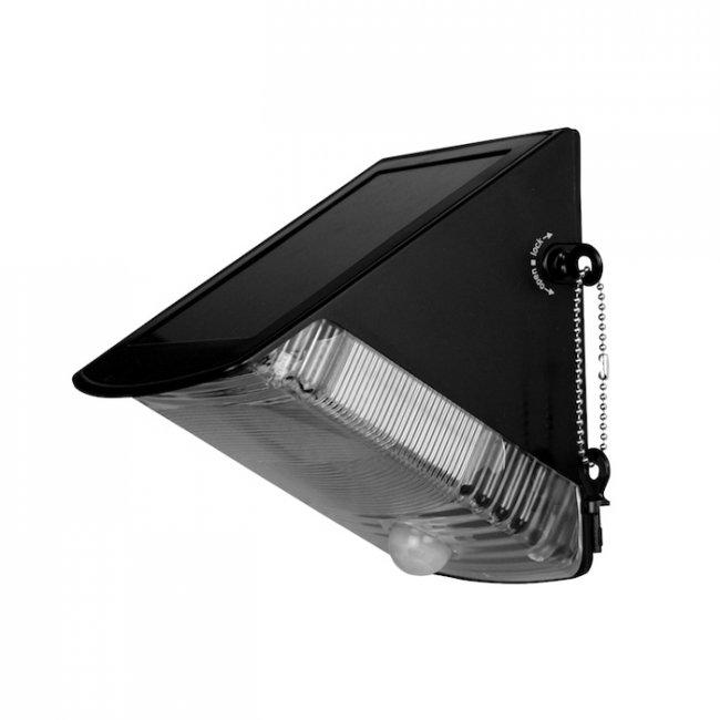 applique solaire natal 40 lumens d tecteur de mouvement. Black Bedroom Furniture Sets. Home Design Ideas