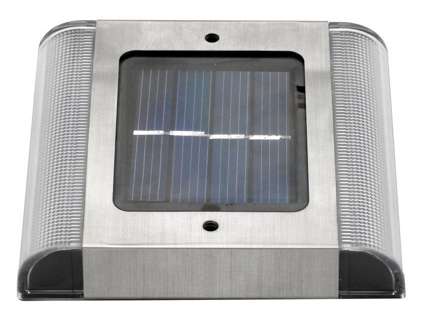spot pav solaire encastrable sol 2 leds eclairage. Black Bedroom Furniture Sets. Home Design Ideas