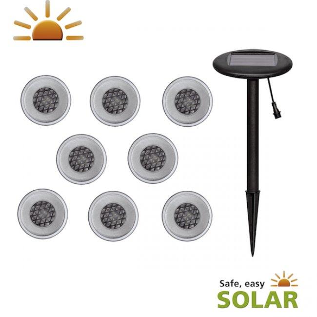 Spots solaires encastrables los rios eclairage spot solaire sol objetsolaire - Spot solaire encastrable ...