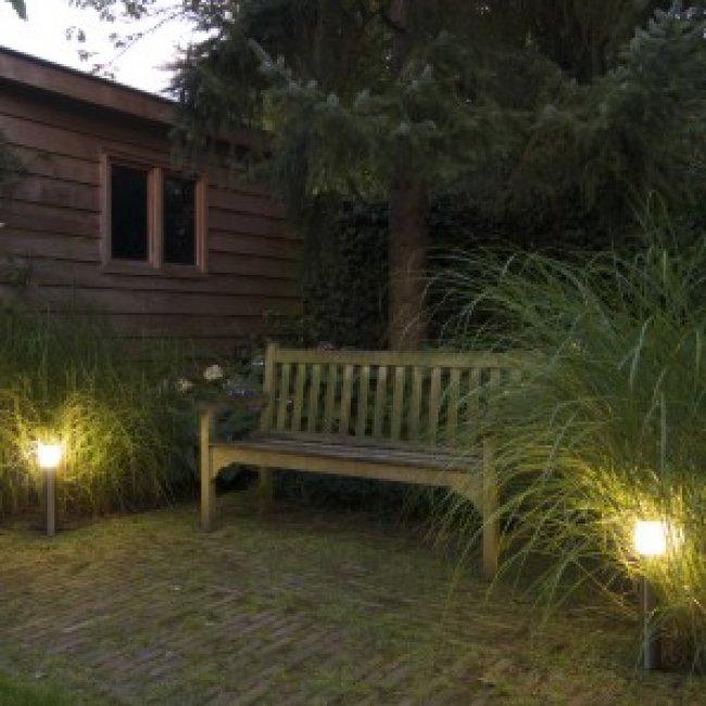 Borne jardin inox 12v halifax easy connect eclairage - Eclairage exterieur basse tension ...
