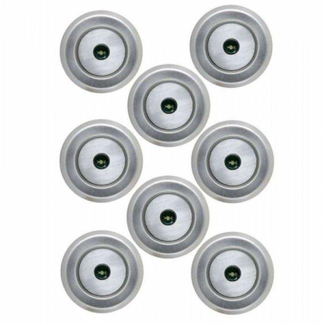 Kit 8 spots encastrables ext rieur 12v led orion easy for Eclairage exterieur 12v
