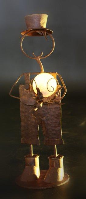 homme solaire en fer forg d coration sujet solaire objetsolaire. Black Bedroom Furniture Sets. Home Design Ideas