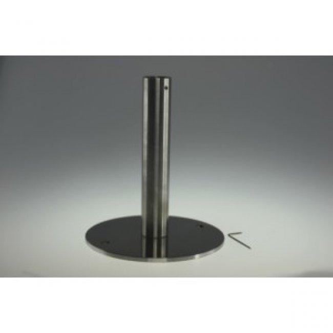 Fixation anti vol pour lampes roseau solaire objet solaire for Lampe solaire pour portail