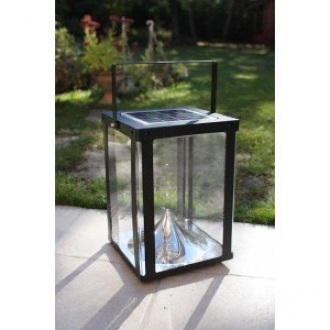 Lanterne photophore d 39 clairage solaire eclairage solaire puissant obj - Lanterne pour terrasse ...