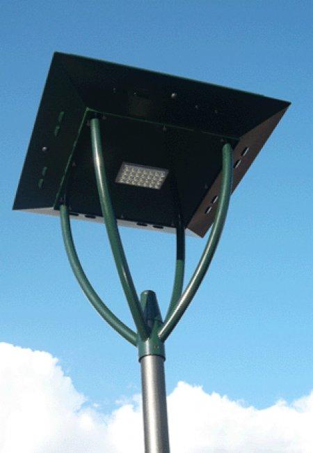 lampadaire solaire sunnyled city 50b sur le site internet objetsolaire. Black Bedroom Furniture Sets. Home Design Ideas