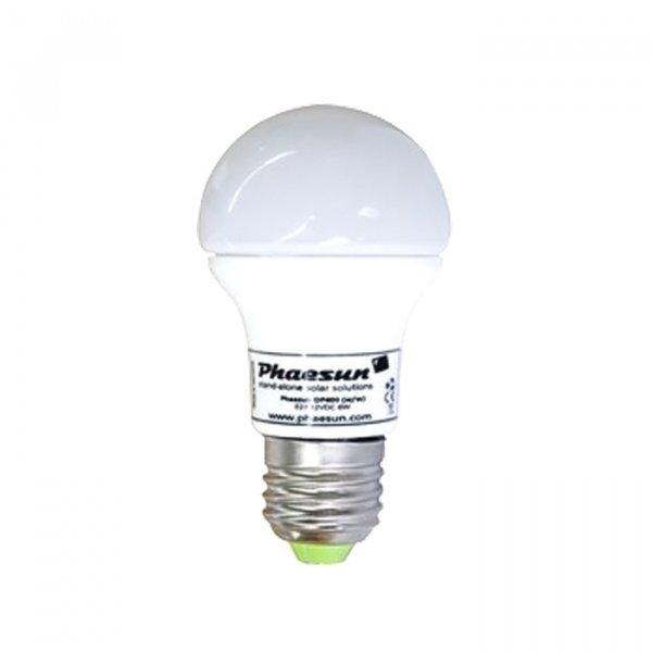 ampoule led 12v dc 5 w e27 5000 k ampoules led basse tension objetsolaire. Black Bedroom Furniture Sets. Home Design Ideas