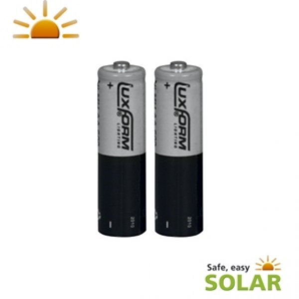 piles solaires rechargeables lithium ion lifepo04 aa 800 mah 3 2v pack de 2 objetsolaire. Black Bedroom Furniture Sets. Home Design Ideas