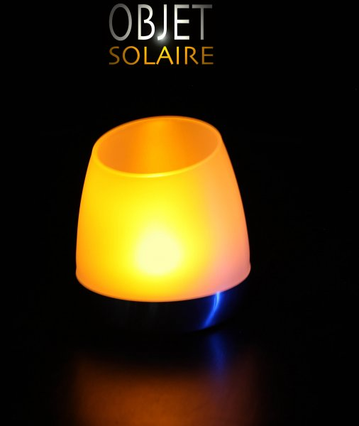Bougie Solaire