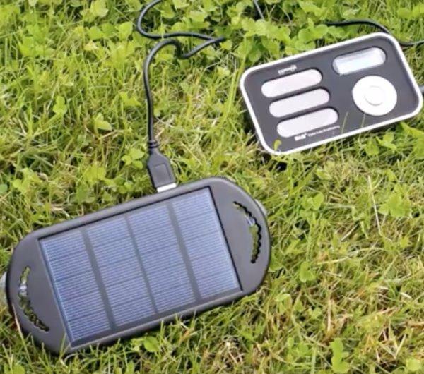 radio solaire r veil num rique panneau 1 w radio solaire nomade objetsolaire. Black Bedroom Furniture Sets. Home Design Ideas