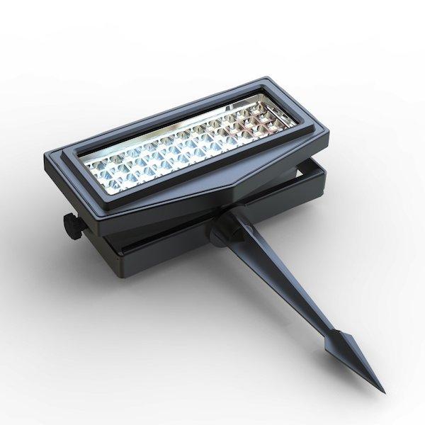 projecteur solaire puissant rgb ip 65 300 lumens zs ll2 projecteurs solaires objetsolaire. Black Bedroom Furniture Sets. Home Design Ideas