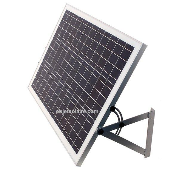 support de fixation mural panneau solaire j 50 w. Black Bedroom Furniture Sets. Home Design Ideas