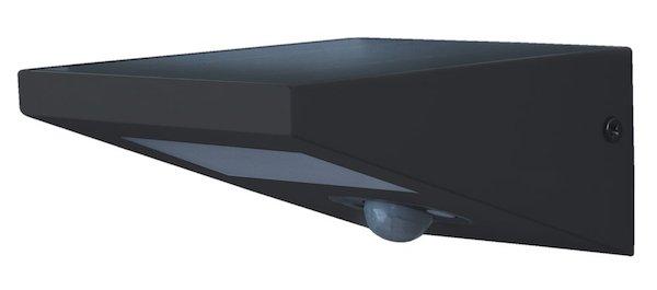 applique solaire puissante d tecteur 170 lumens aluminium fione applique solaire objetsolaire. Black Bedroom Furniture Sets. Home Design Ideas