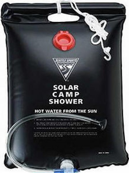 Douche solaire nomade 20 l sur le site internet objetsolaire - Douche solaire camping car ...