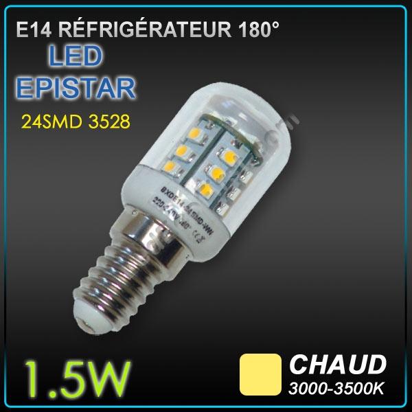 ampoule led e14 r frig rateur hotte 1 5w eclairage ampoule led objetsolaire. Black Bedroom Furniture Sets. Home Design Ideas