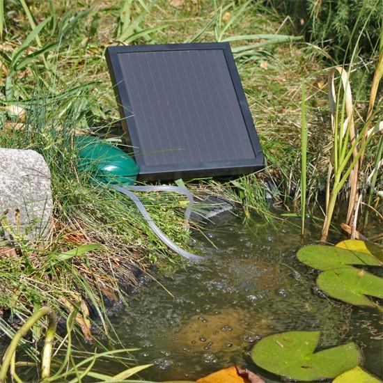 Bulleur Pour Bassin : oxyg nateur a rateur solaire bulleur de bassin 2 sorties x ~ Premium-room.com Idées de Décoration