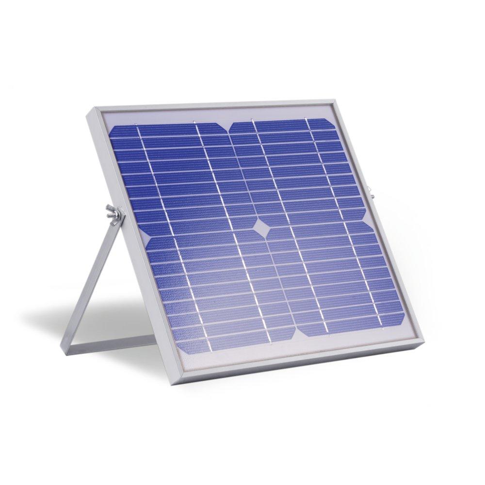kit d 39 clairage solaire heit 5w 2 lampes 3w kit eclairage. Black Bedroom Furniture Sets. Home Design Ideas