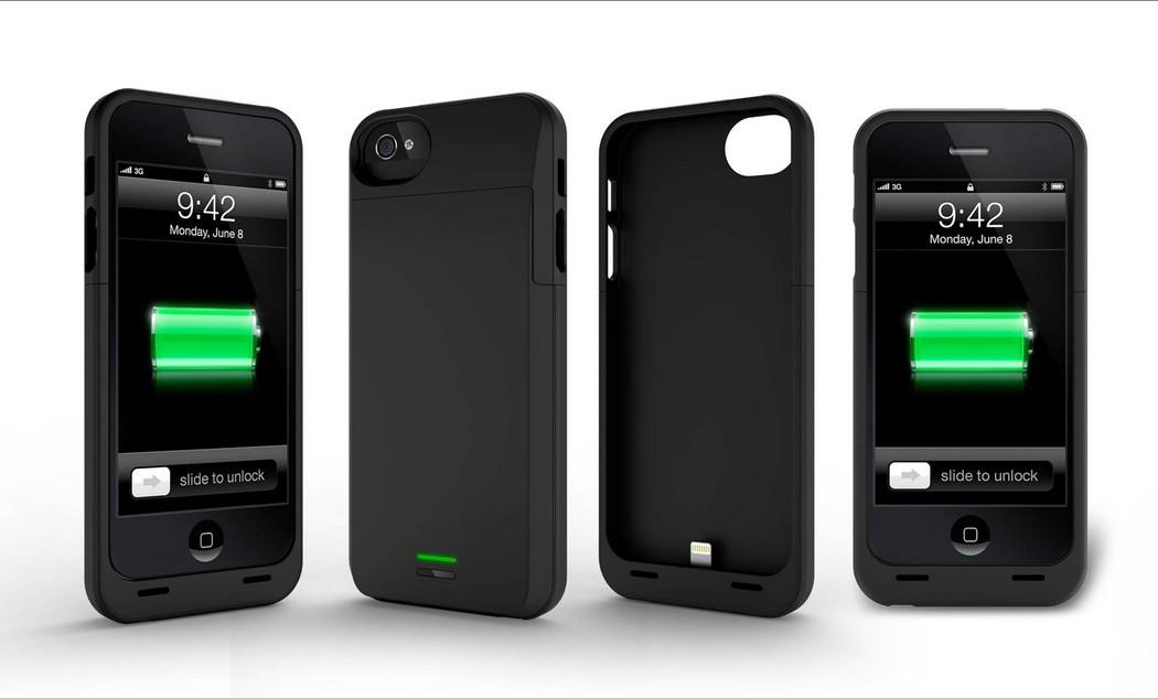 coque solaire iphone 5