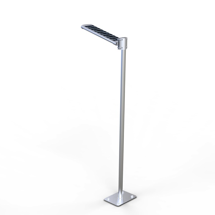 lampadaire solaire puissant 20 w led zs sl16 02n eclairage solaire puissant objetsolaire. Black Bedroom Furniture Sets. Home Design Ideas