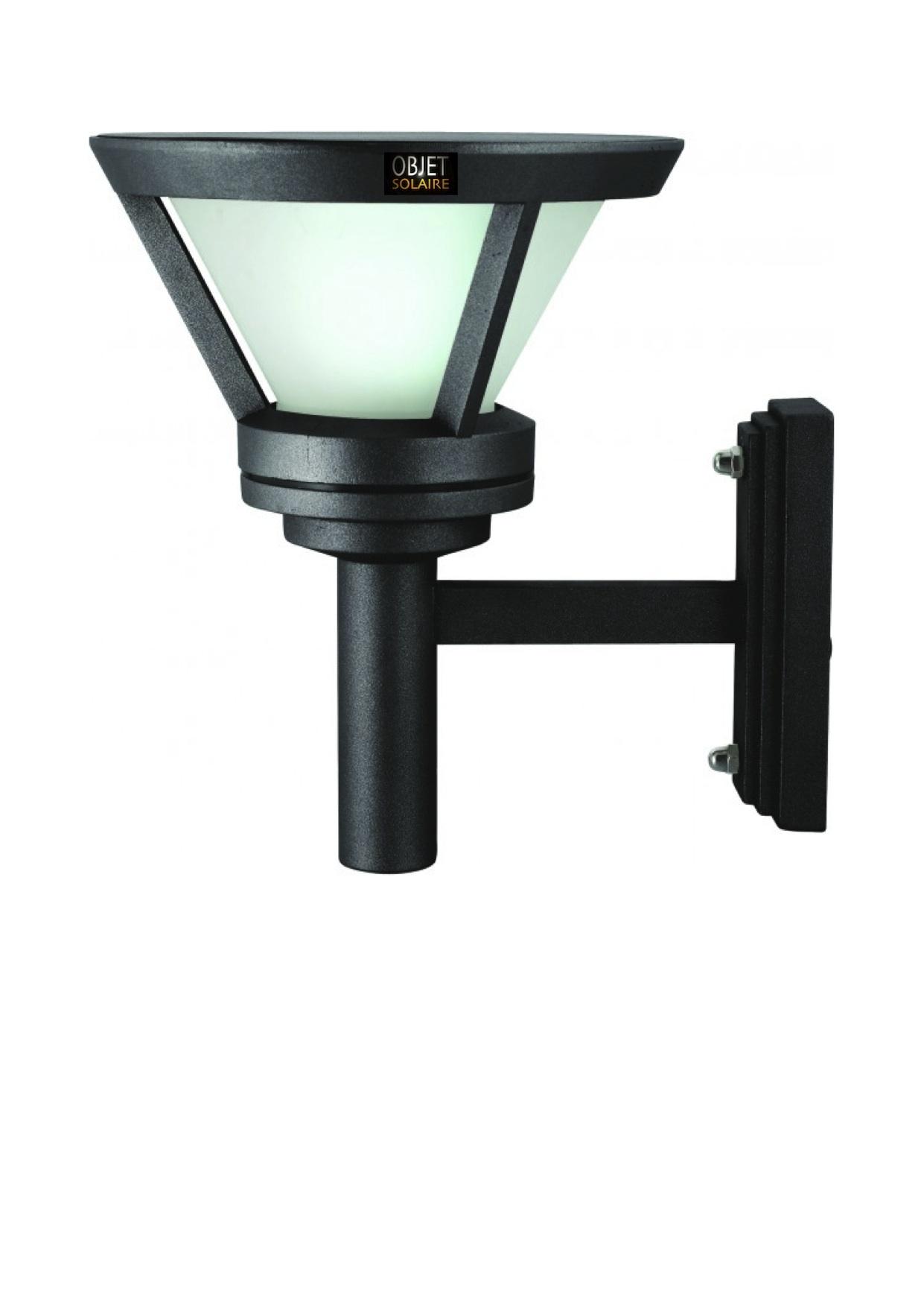 Applique Solaire Puissante Bt1 323 Lumens Eclairage Solaire