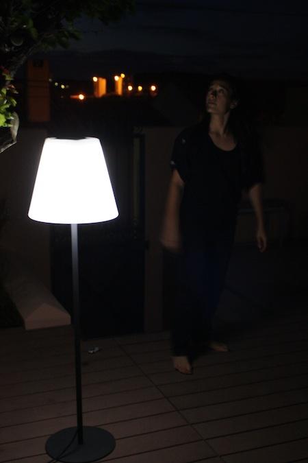 Lampe Solaire de Terrasse sur Pied Arte 130 Lumens - eclairage ...