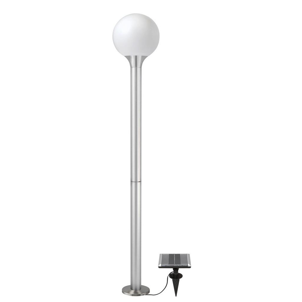 lampadaire solaire boule samos lampadaire solaire jardin objetsolaire. Black Bedroom Furniture Sets. Home Design Ideas