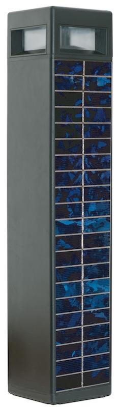 borne solaire puissante tetris eclairage solaire. Black Bedroom Furniture Sets. Home Design Ideas