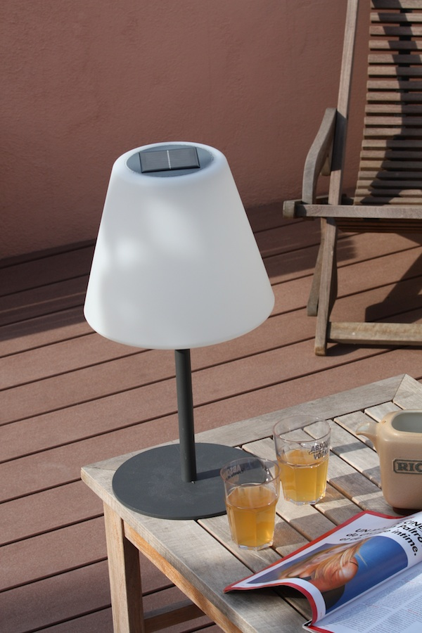 Lampe Solaire de Table à Poser Arte 130 Lumens - lampe solaire table ...
