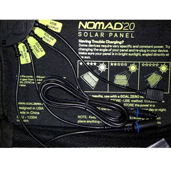 chargeur solaire goal zero