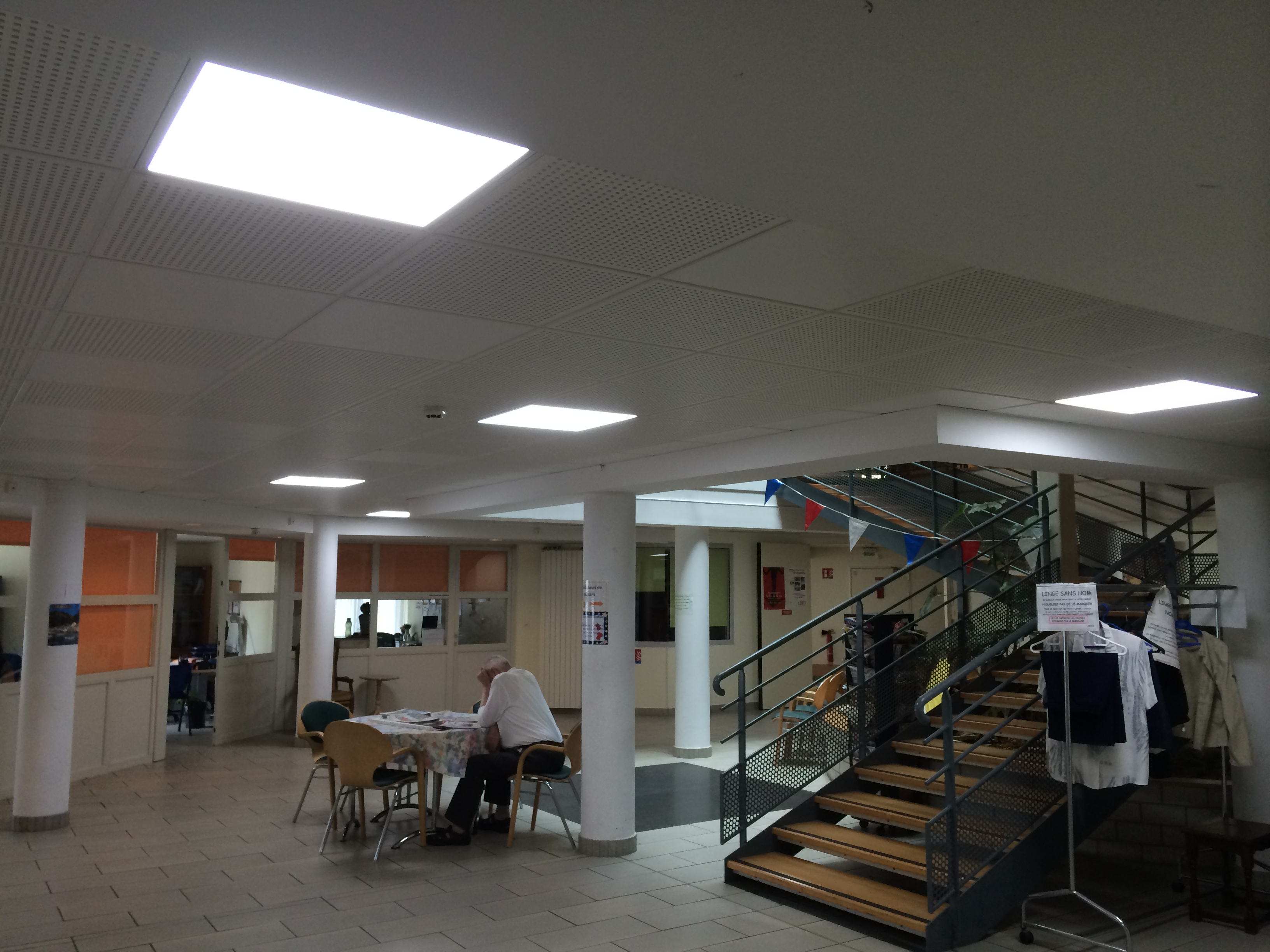 Dalle Led Faux Plafond 60 X 60 40w 4500 K Plafonniers Eclairage Led