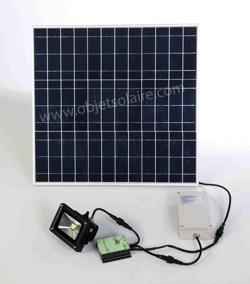 Projecteur Solaire Puissant 1000 Lumens Timer Zs 210 Projecteurs