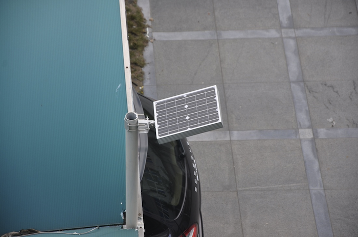 Lampe projecteur solaire puissant 8w 800 lumens zs a06 projecteur solaire objetsolaire - Projecteur solaire puissant ...