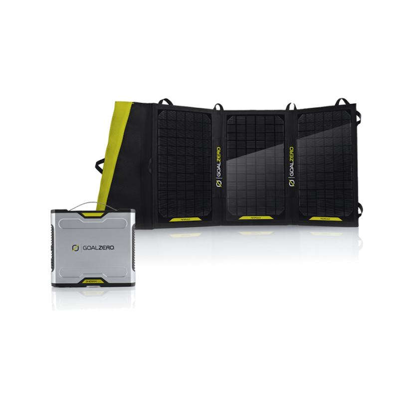 kit sherpa 100 goal z ro batterie panneau nomad 20 solutions compl tes goal 0 objetsolaire. Black Bedroom Furniture Sets. Home Design Ideas