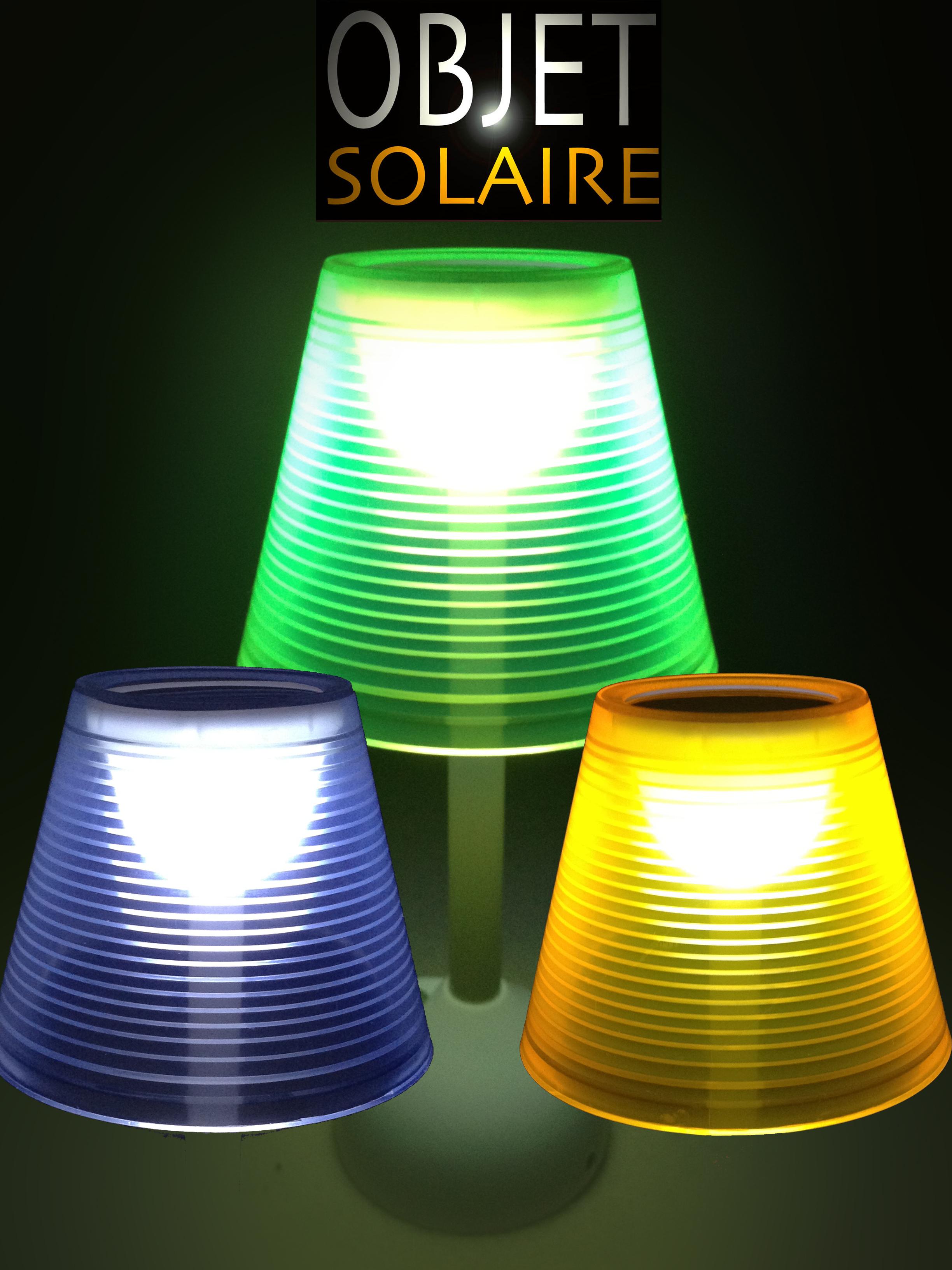 Lampe Solaire Et Usb