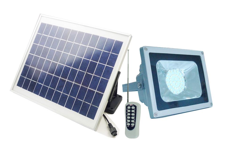 spot led solaire puissant