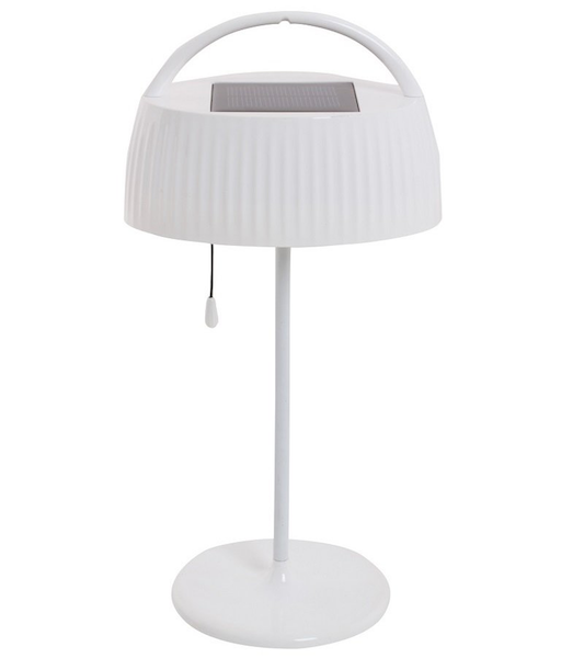 Lampe solaire de bureau blanche chevet solaire lampe for Table de bureau blanche