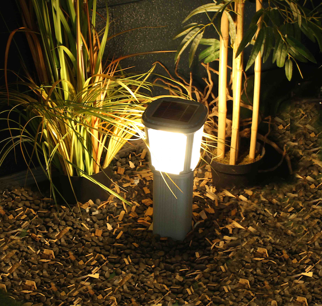 borne solaire puissante zs gl03 200 lumens ip 65 bornes. Black Bedroom Furniture Sets. Home Design Ideas