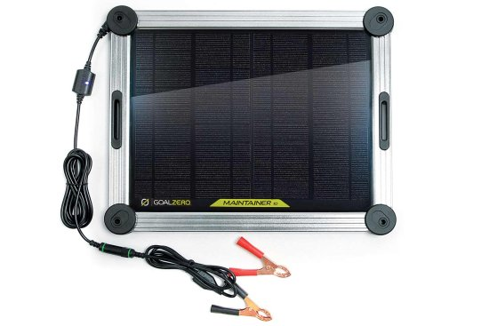 chargeur batterie 12v solaire