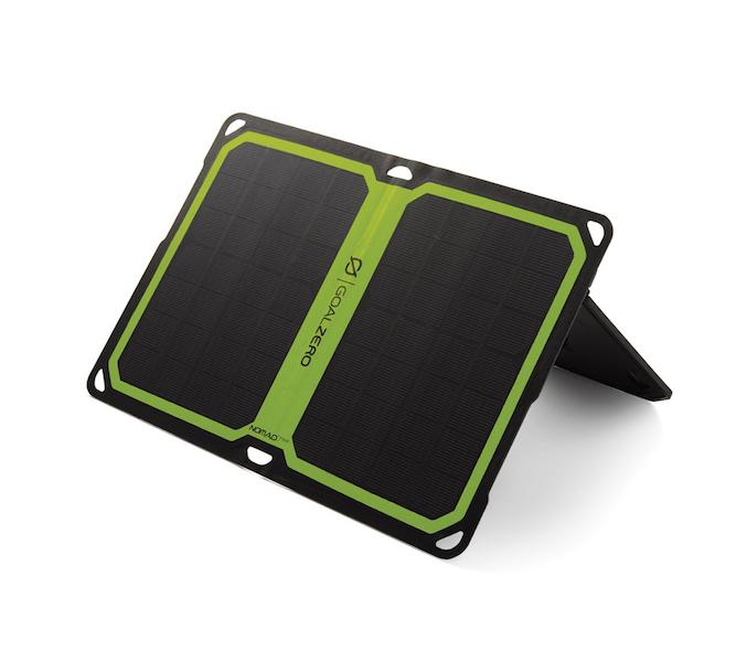 panneau solaire pliable nomad 7 plus goal zero solutions compl tes goal 0 objetsolaire. Black Bedroom Furniture Sets. Home Design Ideas