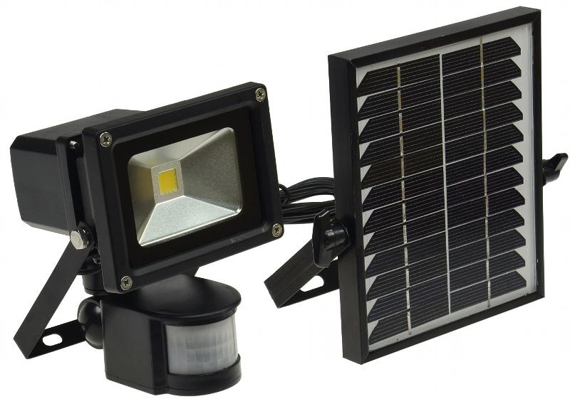 projecteur solaire puissant 10 w zs 10 1000 lumens projecteurs solaires objetsolaire. Black Bedroom Furniture Sets. Home Design Ideas