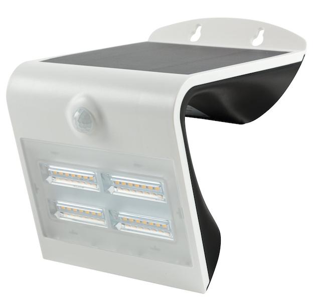 Applique solaire puissante 3 modes ip 65 d tecteur heit for Eclairage exterieur a detection