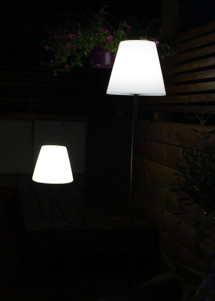 lampe solaire ombre