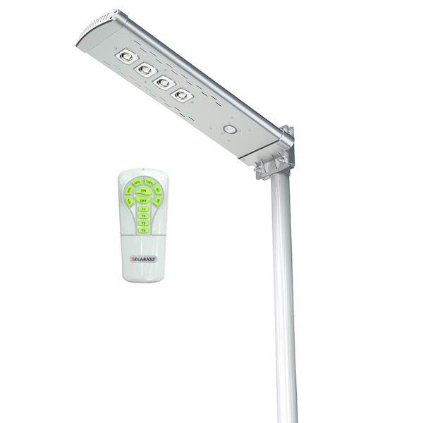 lampadaire solaire puissant t l commande 3000 lumens led zs sr6 eclairage solaire puissant. Black Bedroom Furniture Sets. Home Design Ideas