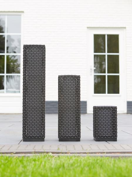 balise solaire led de jardin martinique 30 lumens 69cm. Black Bedroom Furniture Sets. Home Design Ideas